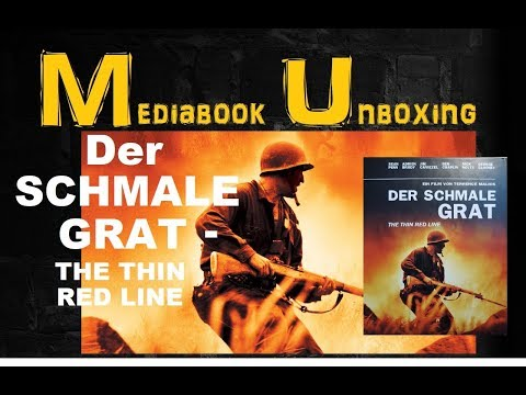 | MEDIABOOK UNBOXING | DER SCHMALE GRAT | THE THIN RED LINE |