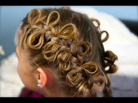 The Bow Braid | Popular Hairstyles | Cute Girls Hairstyles (видео)