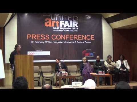 The Wall covers The United Art Fair 2013 Press Conference 1