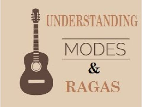 Relation between Guitar modes and ragas-Advance Guitar lesson in hindi