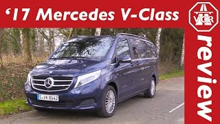 2016 Mercedes-Benz V 250d  - In-Depth Review, Test, Test Drive by Video Car Review