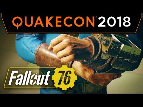 Fallout 76 Panel With Todd Howard At QuakeCon 2018