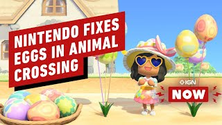 Nintendo Patches Animal Crossing to Fix Those Eggs - IGN Now by IGN