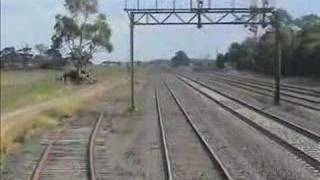 Seymour Australia  city images : Cab ride G514 from Seymour: Australian trains and railways