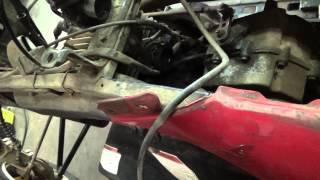 8. 1996 Polaris Trailblazer 250 Carburetor Removal and Hose Setup