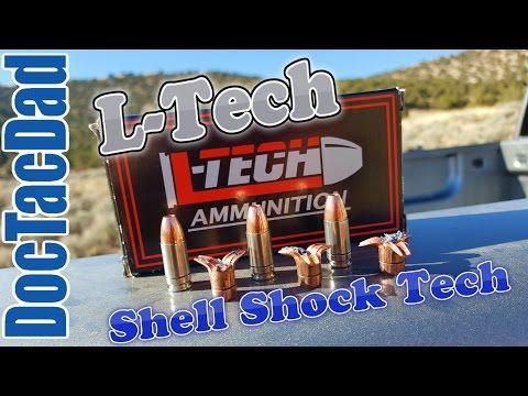 Impressive!!! L-Tech/Shell Shock Technologies 9mm Ballistics Test