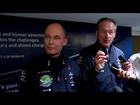 Solar Impulse ou l'impossible tour du monde