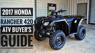 2. 2017 Honda FourTrax Rancher 420 ATV Model Lineup Explained / Differences / Model ID Breakdown