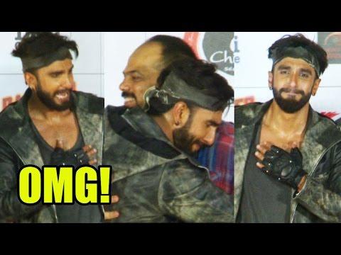 OMG! Ranveer Singh Breaks Down Publicly, Hugs Rohi