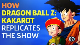How the World of Dragon Ball Z: Kakarot Replicates the Show by GameSpot