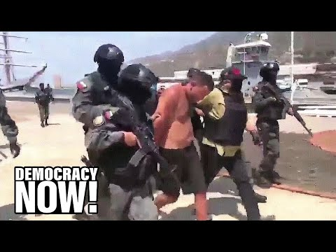 """U.S. Mercenaries Captured in Venezuela After Failed Coup Attempt Compared to a """"Bad Rambo Movie"""""""