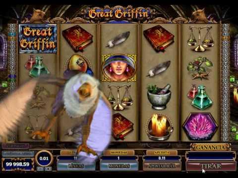 Cómo jugar a las slots y tragaperras en ebingo.es | Great Griffin