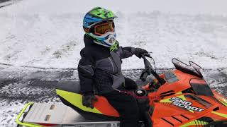 9. Bring on the snow!! 2019 Yamaha Sno Scoot Snowmobile