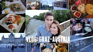 Graz Austria  city photos : VLOG: Graz Austria (Outfits, foods, Sightseeing & Tiki...)