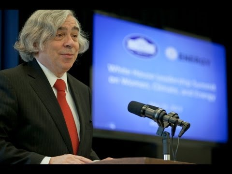 climate - Secretary Moniz delivers remarks at the White House Women's Leadership Summit on Climate and Energy.