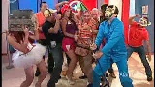 A Que Te Ríes  El Llanero Y Su Hijo Bailan El Harlem Shake