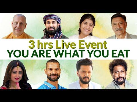 "3-Hour LIVE Event ""YOU ARE WHAT YOU EAT"" | BK Shivani & Suresh Oberoi | Brahma Kumaris"