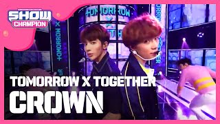 Download Video Show Champion EP.308 TOMORROW X TOGETHER - CROWN MP3 3GP MP4