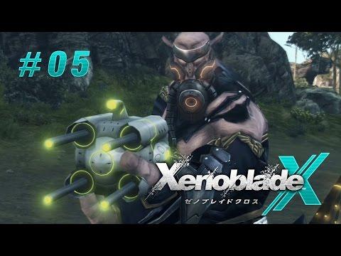 Xenoblade Chronicles X / FR / 05 : Tout les aliens terrestre mourront (видео)