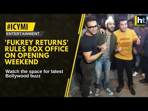 #ICYMI The movie is a sequel of 2013 sleeper hit 'Fukrey' and directed by Mrighdeep Singh Lamba.