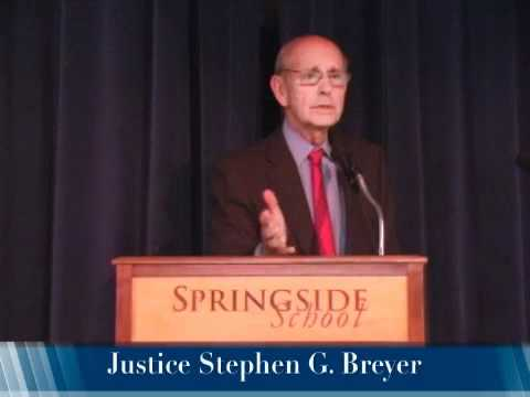 Supreme Court Justice Stephen Breyer Talks to Springside School & Chestnut Hill Academy, Part II