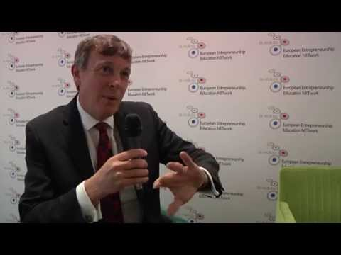 Watch a video called 'Entrepreneurship on Steroids - An interview with John Higgins, Director General of DIGITALEUROPE'