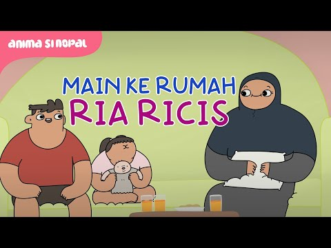 Download Main Ke Rumah Ria Ricis Sambil Bawa Boneka Terkutuk - Kartun Lucu HD Mp4 3GP Video and MP3