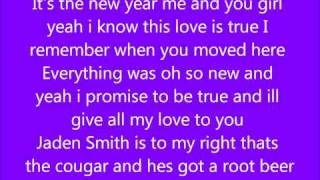 Justin Bieber Ft. Jaden Smith- Happy New Year (New Song) Lyrics