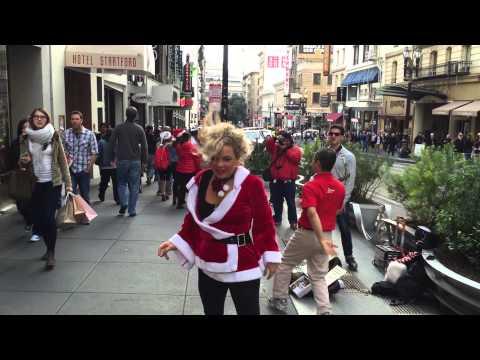 street dance in San Francisco :)