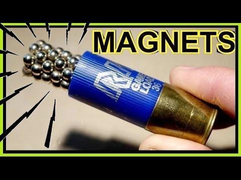 速度加重量,使小鋼珠射穿了一般子彈也能射穿的....