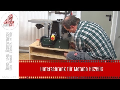 Unterschrank für Metabo HC260