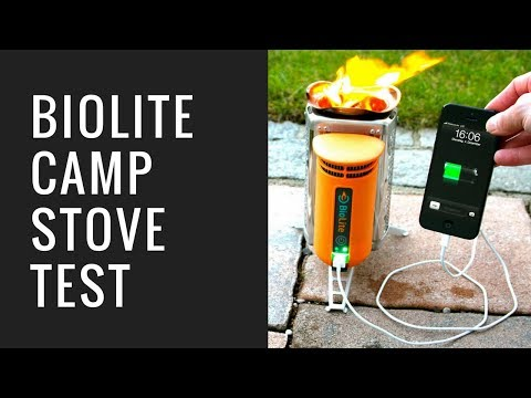 Handy Akku mit Feuer laden - BioLite Camp Stove Test - Das Outdoorgadget