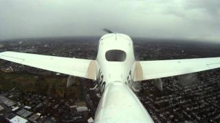 Marginal VFR demonstration