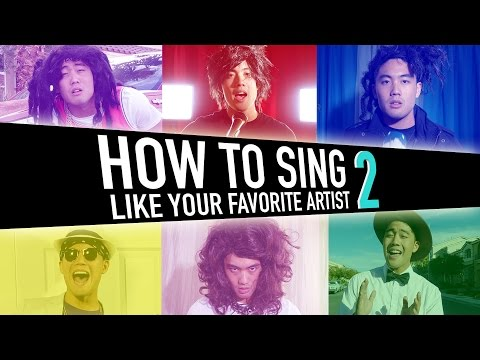 How To Sing Like Your Favorite Artist (pt.2) (видео)