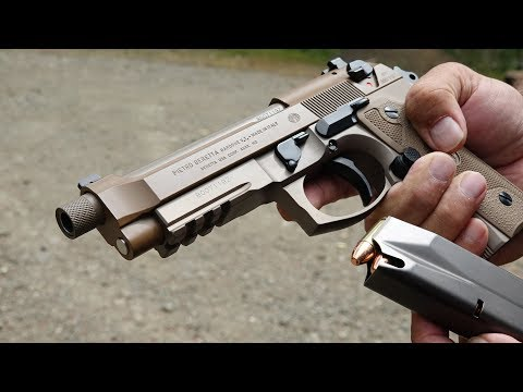 Beretta M9A3 With SSGuideRod
