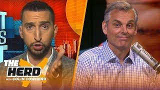 Westbrook not a highly effective player & Lillard was 'unbelievable' — Nick Wright | NBA | THE by Colin Cowherd