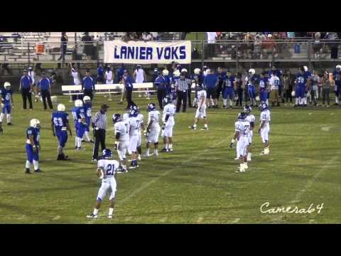 Somerset VS Lanier HS  Varsity Football at SAISD Stadium