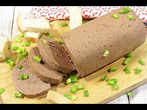 как сделать паштет из печенки в домашних условиях