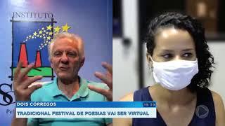 Tradicional Festival de Poesia de Dois Córregos será virtual