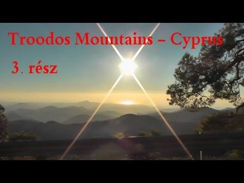 Troodos Mountains - Cyprus 3.rész: Palaichori, Kyperounta, Platania (видео)