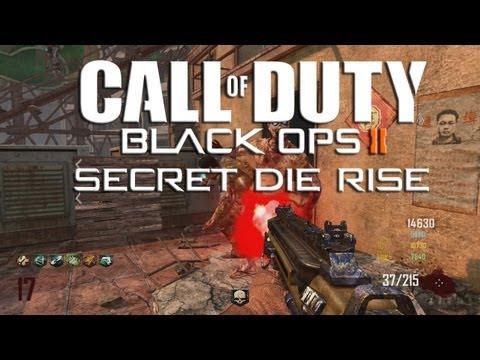 Black Ops 2 Zombie | Secret Die Rise avec la eAxis