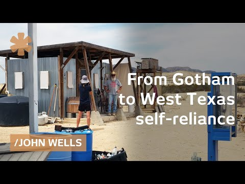 From Gotham to isolated, code & debt-free West Texas estate