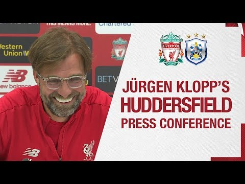 Jürgen Klopp's Pre-match Press Conference | Huddersfield Town