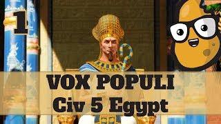 Video Civ 5 Vox Populi Egypt Ep. 1 - Let's Play Civ 5 Egypt Vox Populi Mod MP3, 3GP, MP4, WEBM, AVI, FLV Maret 2018