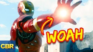 """Will Spiderman Homecoming show us anything about these Iron Man superhero powers? 10 Secrets Iron Man Is Hiding About His Superpowers! Subscribe to our channel: https://goo.gl/wMuSDDIn both the Marvel cinematic universe and in the comic books, Iron Man is without a doubt of the most recognizable superhero characters.  Whether you call him Tony Stark, the playboy billionaire, the instigator of the superhero Civil War, or plain old Iron Man, people know who you are talking about.  Sometimes someone may toss the adjective """"philanthropist"""" in there when referring to Tony, but that one might throw a few people off. No matter whatever you call him, we're here to tell you, there is more to Iron man than meets the eye. Despite Iron Man's claim to fame-- that he's just a regular human whose various suits help him accomplish superhuman feats-- Iron Man is more than just the sum of his suits. Throughout different comic book, television, and film storylines since Iron Man's 1968 debut, he's accumulated a whole host of powers that most people don't realize exist. Sure, everyone knows the basics – like his flight and weapons capabilities – but we're diving into the powers that you don't think about when you think about Iron Man. Did you know that Tony has access to all the communications systems in the world. Imagine to listening to that chatter!  He can detect incoming objects with his radar avoidance ability.  You know about his repulsors, but what about his freeze beam?  Don't even get us started on the holographic decoys he can make or how he can absorb the suit into his body.  This genius level intellect with an indomitable will has skills that will blow your mind."""