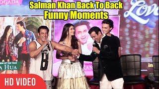 Video Salman Khan Loveyatri Back To Back Funny Moments   Loveyatri Music Concert MP3, 3GP, MP4, WEBM, AVI, FLV Oktober 2018