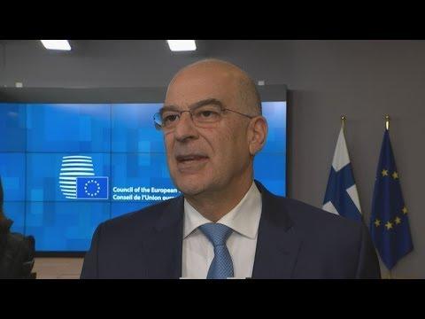 Ν. Δένδιας: Ρητή καταδίκη των μνημονίων Τουρκίας-Λιβύης και δημιουργία πλαισίου κυρώσεων