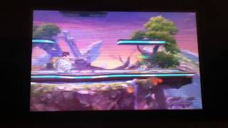 Toon Link Glitch using Flying Spin Attack Custom