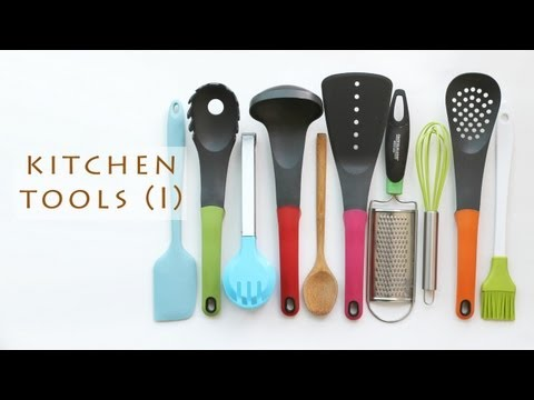 Basic Cooking Utensils (I) 기본 요리 도구들