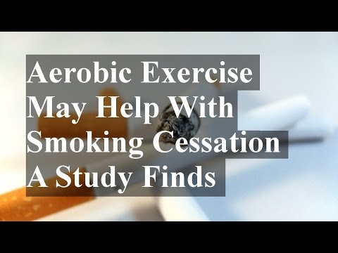 Aerobic Exercise May Help With Smoking Cessation (Quitting) A Study Finds
